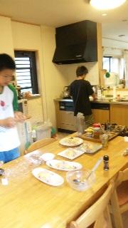 久しぶりに兄ちゃんの台所